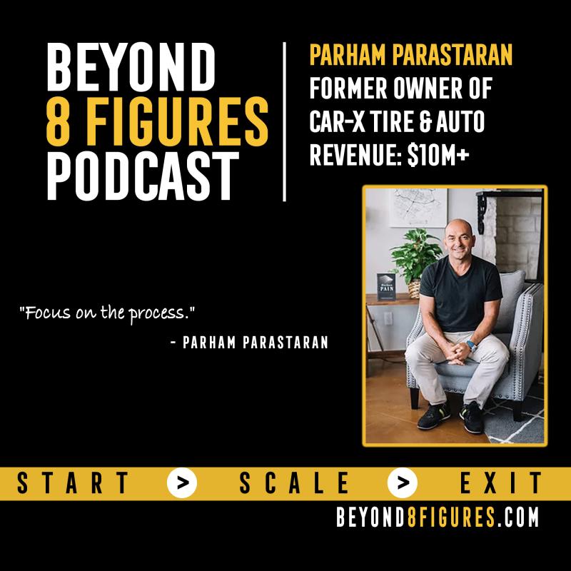 Parham Parastaran on Beyond 8 Figures Podcast